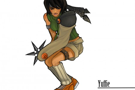 Yuffie from Final Fantasy VII fanart