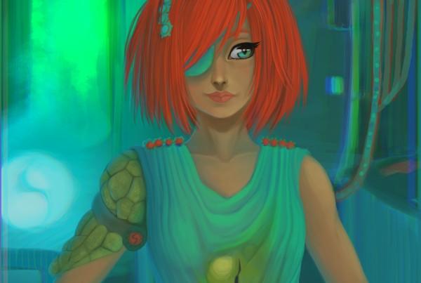 Cyborg N2 : Crocodile Hunt by (EYR) aka Emilie Masdoua