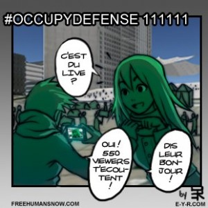 Occupy Defense 11/11/11