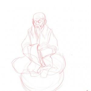24/08/2010 - Bugenhagen Fanart sketch Final Fantasy VII